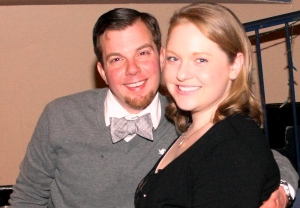 BOW TIE! This pic is me and my husband at Rock 'n Aspire.